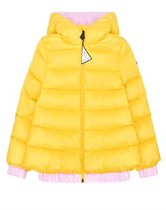 Желтая пуховая куртка Mirmande детская Moncler