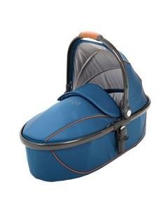 Люлька Stroller Egg Carrycot Petrol Blue Gun Metal Frame