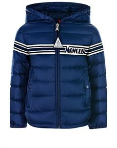 Куртка Renald с вязаной деталью и логотипом Moncler