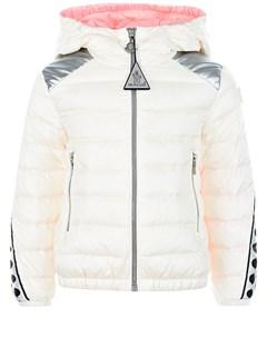 Стеганая куртка Pivoine с контрастными деталями детская Moncler