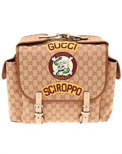 Рюкзак с логотипом 14х27х26 5 см Gucci