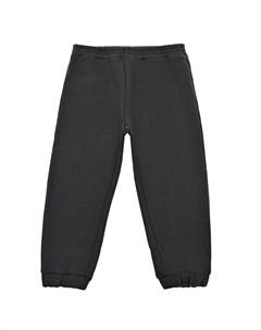 Черные спортивные брюки с вышивкой Gucci