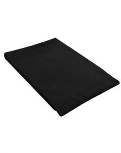 Черный шарф из кашемира William sharp