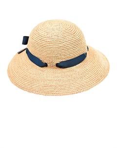 Соломенная шляпа с бантом Tartine et chocolat