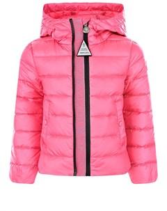 Розовая стеганая куртка Glycine детская Moncler