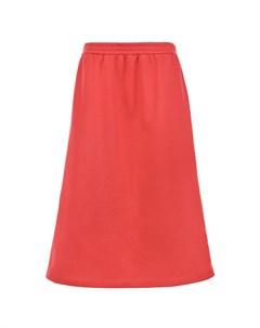 Трикотажная юбка с лампасами детская Gucci