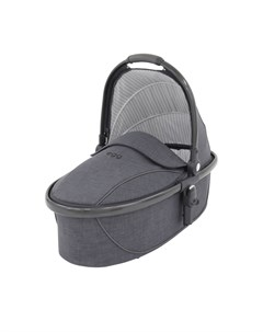 Люлька Carrycot Quantum Grey Gun Metal Chassis Egg