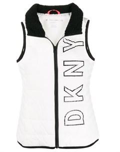 жилет с логотипом Dkny