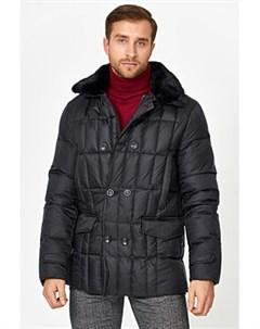 Утепленная куртка с отделкой меховой тканью Malinardi