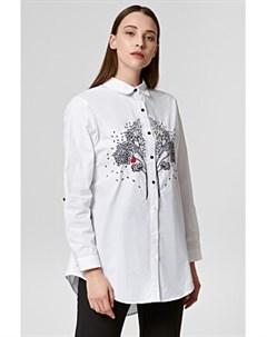 Рубашка с вышивкой Снежная королева