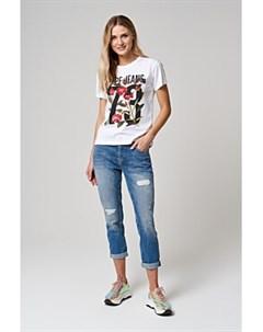 Укороченные джинсы Pepe jeans london