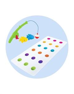 Коврик 12194 с игрушкой для ванной Весёлая рыбалка Munchkin