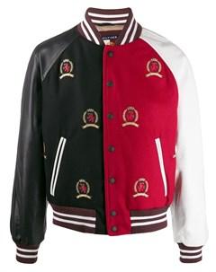 куртка в стиле колор блок Tommy hilfiger