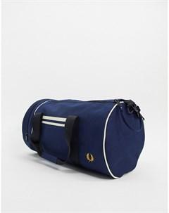 Темно синяя сумка Fred perry