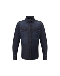 Джинсовая рубашка Dolce&gabbana