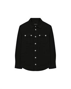 Хлопковая рубашка Balmain