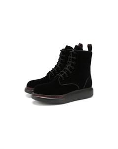 Текстильные ботинки Alexander mcqueen