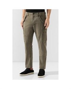 Хлопковые брюки карго Polo ralph lauren