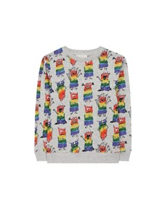 Хлопковый пуловер Stella mccartney