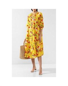 Хлопковое платье Borgo de nor