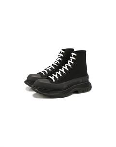 Текстильные ботинки Tread Slick Alexander mcqueen