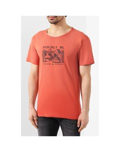 Хлопковая футболка Rrl