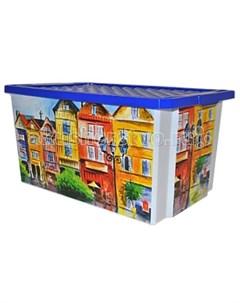 Ящик для хранения игрушек Optima 57 л Полимербыт