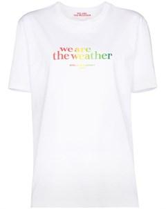 Футболка We Are the Weather Stella mccartney