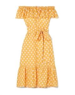 Платье миди Lisa marie fernandez