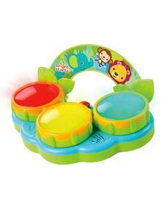 Музыкальная игрушка Барабаны Сафари Bright starts
