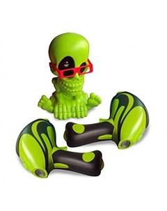 Интерактивная игрушка Тир проекционный 3D Джонни Черепок с 2 мя бластерами Johnny the skull