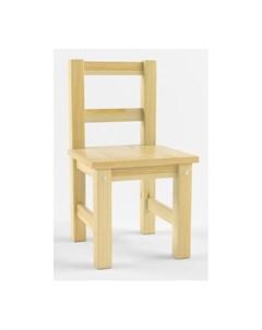 Детский деревянный стул не окрашен Русские игрушки
