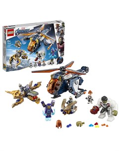 Lego super heroes 76144 конструктор лего супер герои мстители спасение халка на вертолёте Lego