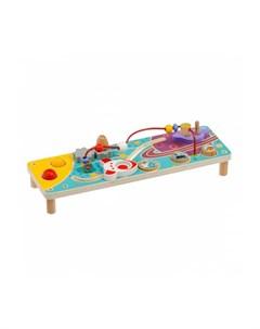 Деревянная игрушка Бизиборд Космос Lucy&leo