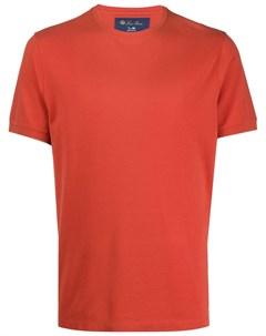 футболка с короткими рукавами Loro piana