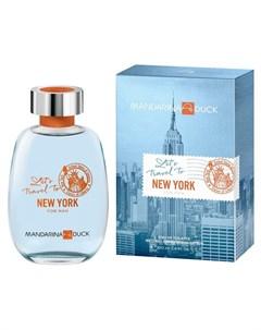 Let s Travel To New York For Man Mandarina duck