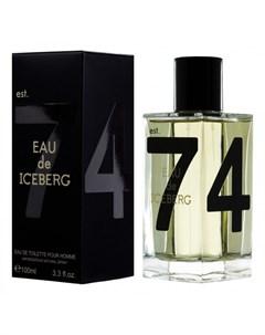 Eau de 74 Pour Homme Iceberg