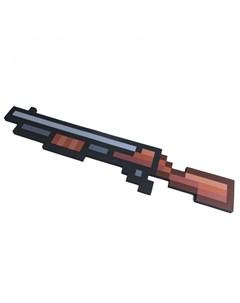 Игрушечное оружие Винтовка 8 Бит пиксельная 75 см Pixel crew