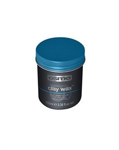 Глина воск для текстурирования волос Clay Wax 100 мл Osmo