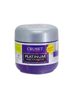 Гель для укладки волос Platinum 250 мл Cruset