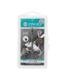 Ножницы маникюрные Salon BS 307 S загнутые узкие Zinger