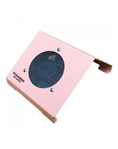 Пылесос для маникюра PRO series настольный розовый 80W Polarus