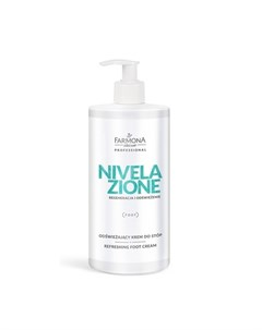 Крем для ног антибактериальный охлаждающий Nivelazione 500 мл Farmona
