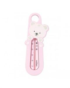 Термометр для ванны Мишка Pink розовый Babyono