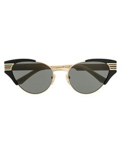 Солнцезащитные очки с полосками Gucci eyewear