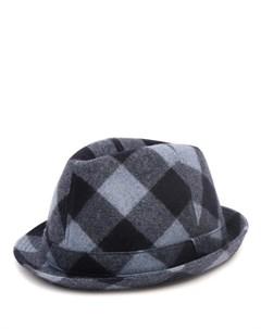 Шляпа в клетку Ermanno scervino