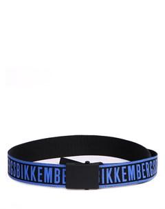 Ремень текстильный с логотипом Dirk bikkembergs