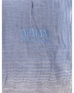 Шарф из льна Armani collezioni