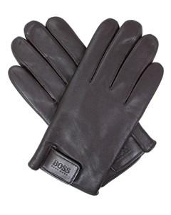 Перчатки кожаные Hugo boss