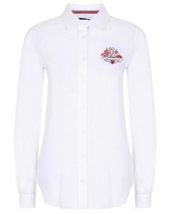 Рубашка хлопковая с логотипом Paul & shark